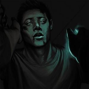 Castiel Rescuing Dean from Hell