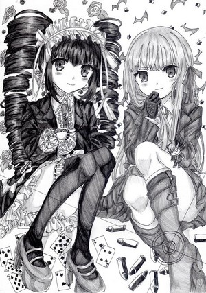 Celestia and Kirigiri