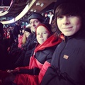 Chandler with his brother and dad ♥ - chandler-riggs photo