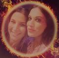 Charlotte and Cristina - music fan art