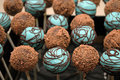 Chocolate Cake Pops  - chocolate photo