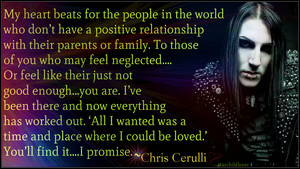 Chris Motionless Cerulli (quote)