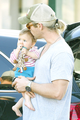 Chris and India Hemsworth