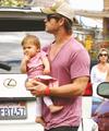 Chris and India Hemsworth