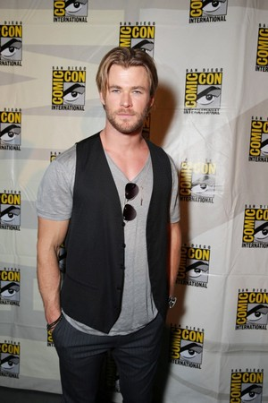 Chris at 2014 Comic Con