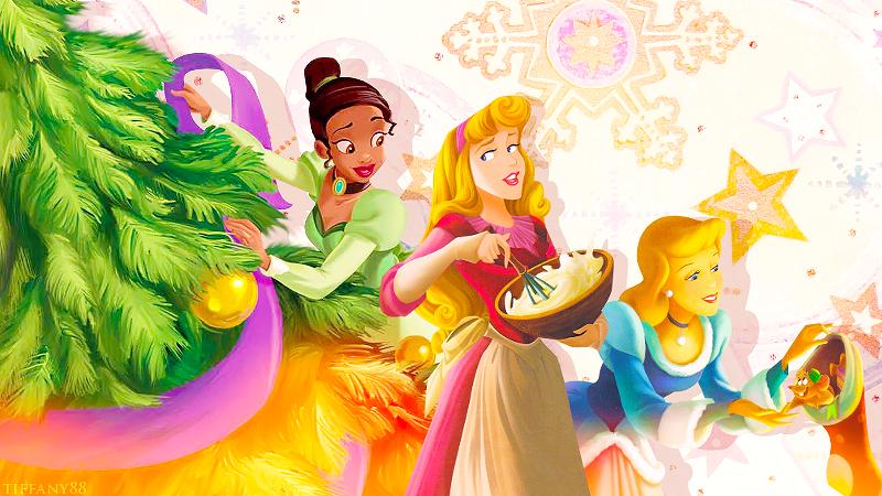Christmas Preparations with Tia, Cinderella and Aurora