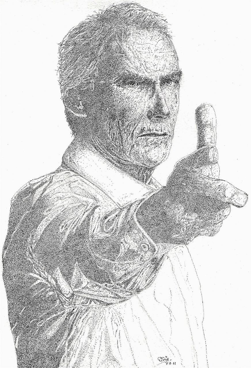 "Clint Eastwood "" Man without a gun"""