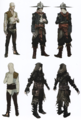 Cole concept art in The Art of Dragon Age: Inquisition