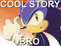 Cool Story Bro - sonic-the-hedgehog fan art