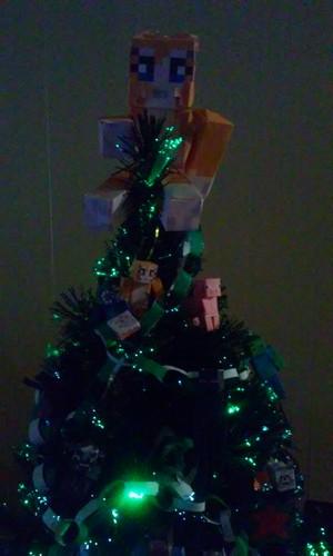 Crafty natal árvore