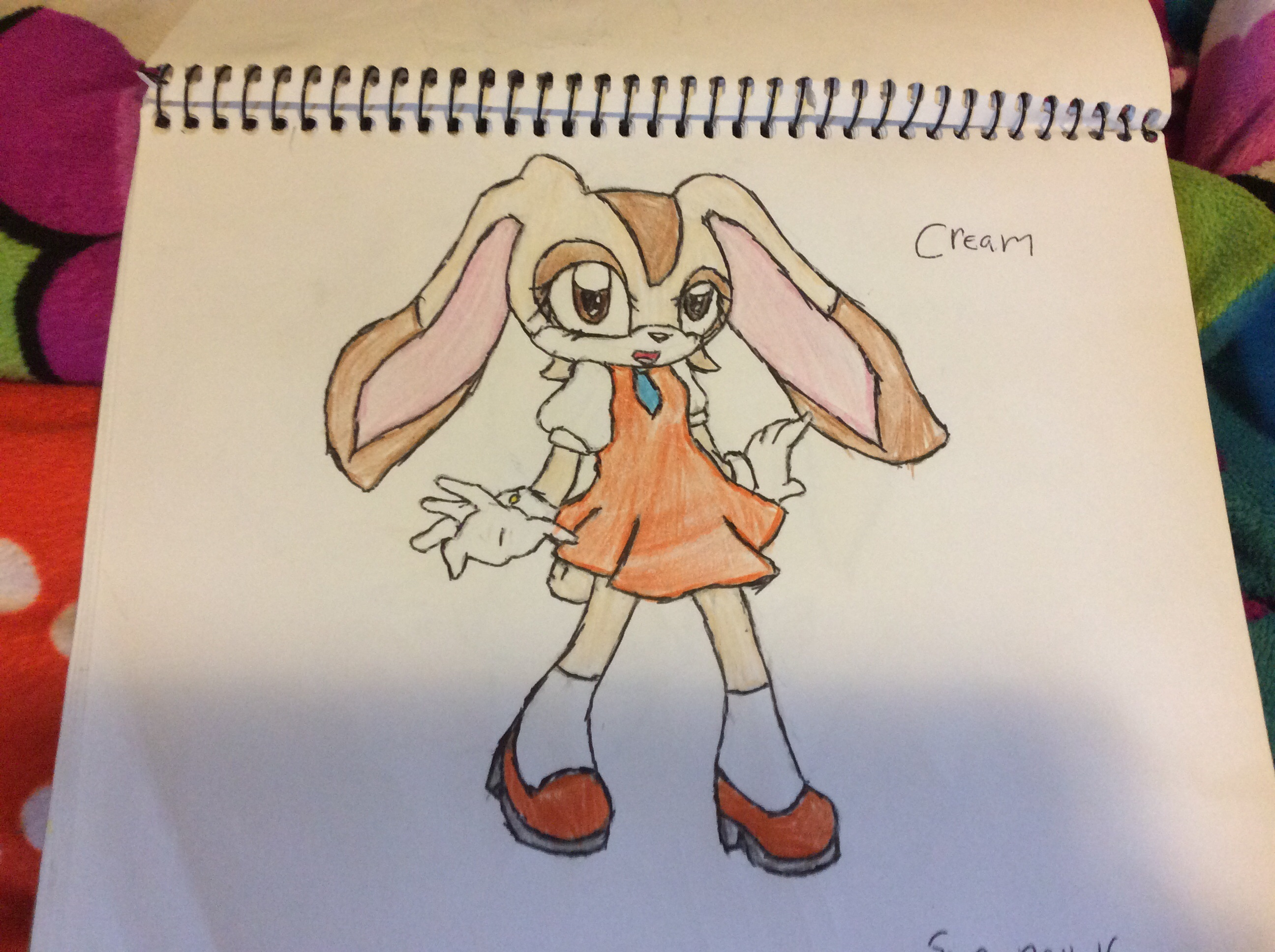Cream the rabbit
