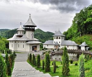 Crisan monastery, Romania christian orthodox
