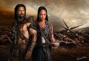 Crixus and Naevia wolpeyper