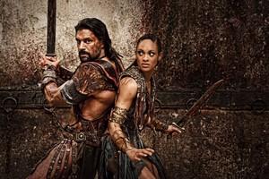 Crixus and Naevia