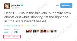 DE Rain kiss