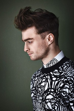 Daniel Radcliffe As If Magazine Photoshoot, New Picture Released (Fb.com/DanielRadcliffeFanClub)