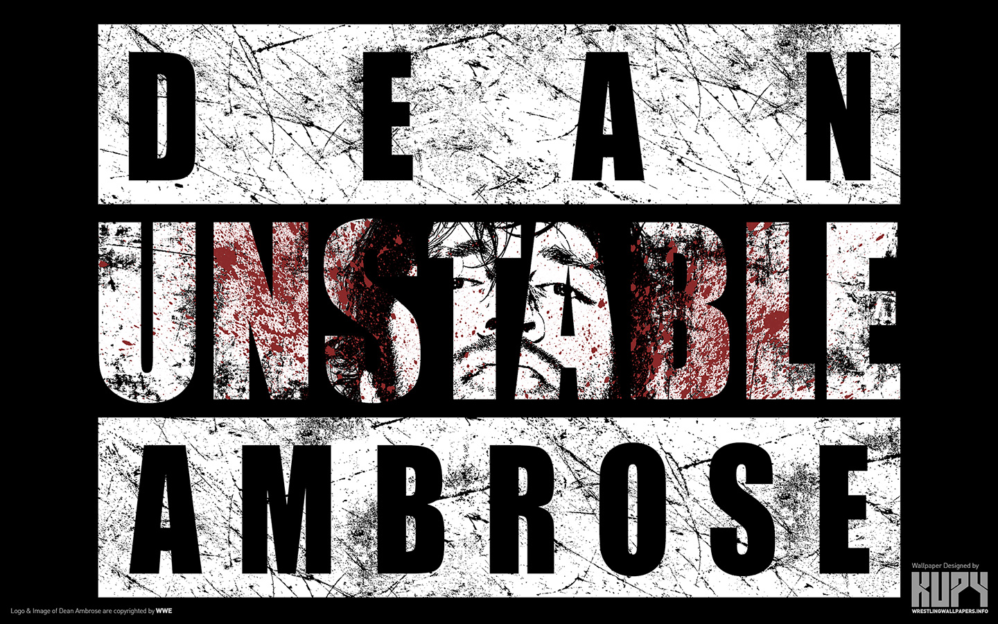 Dean Ambrose - Unstable - The Shield (WWE) Wallpaper