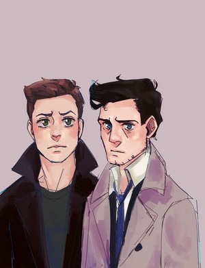 Dean and Castiel ✦