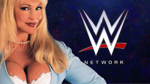 Former WWE Diva... Debra achtergrond containing a portrait titled Debra - WWE NETWORK