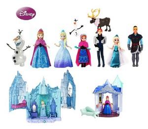 disney Frozen - Uma Aventura Congelante bonecas