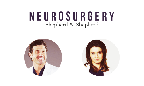 Grey's Anatomy wallpaper containing a portrait called Doctors of Seattle Grace Mercy West / Grey Sloan Memorial   specialities
