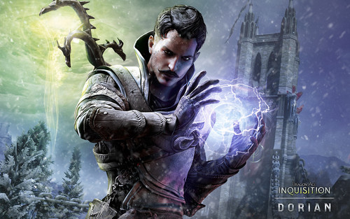 Dragon Age Origins Wallpaper Titled Dorian