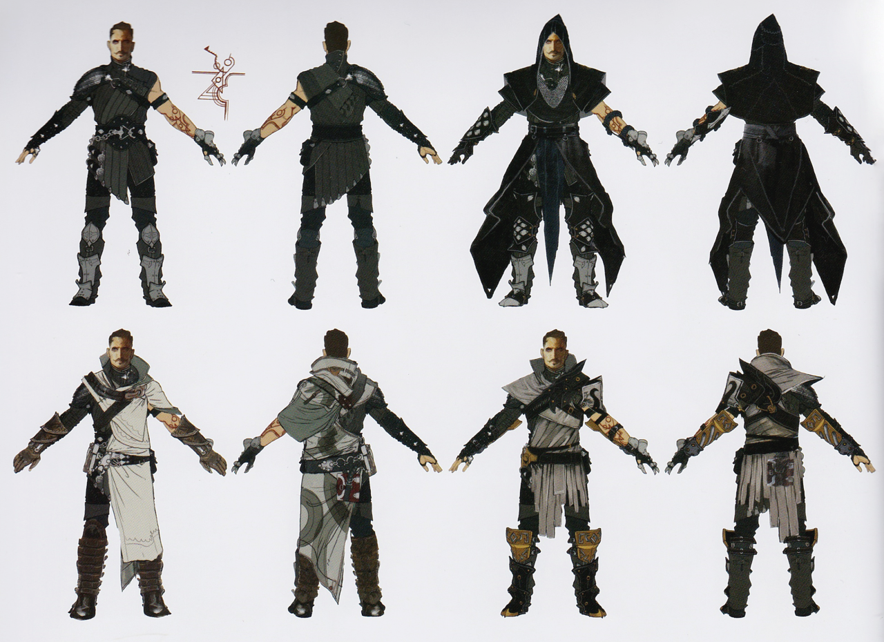 dorian concept art from the art of dragon age inquisition