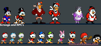DuckTales Remastered Sprites - Webbigail (Webby ...