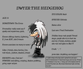 Dwyer The Hedgehog