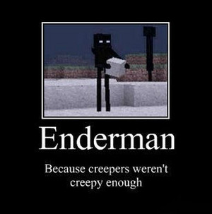 ENDERMAN because Creepers...