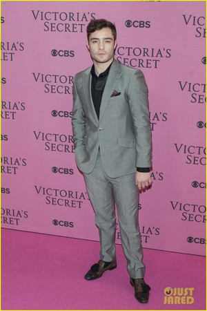 Ed Westwick - Victoria's Secret Fashion montrer
