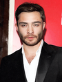"""Ed Westwick at the """"Great Britain"""" opening night in London with his mother (September 26, 2014)"""