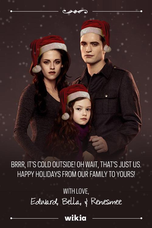 Edward,Bella,Renesmee pasko