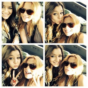 Eleanor and Megan