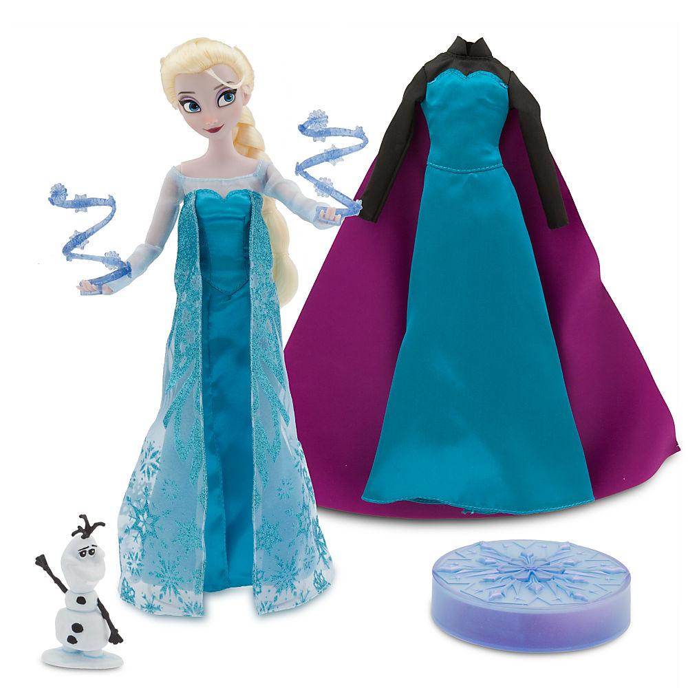 Elsa Deluxe Talking Doll Set - 11''