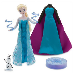 Elsa Deluxe Talking Doll Set - 11''