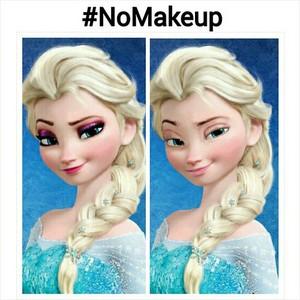 Elsa Without Makeup