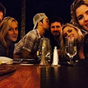 Emily with friends in Oahu