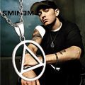Eminem triangle necklace - eminem photo