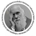 Evolution  - atheism photo