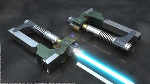 Ezra Bridger's Lightsaber 1 of 2 - SW Rebels