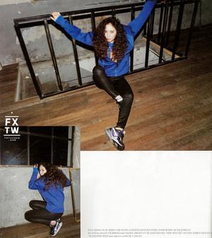 에프엑스 Krystal High Cut 2014