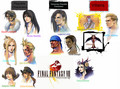 FINAL FANTASY VIII CHARACTER - final-fantasy-viii wallpaper