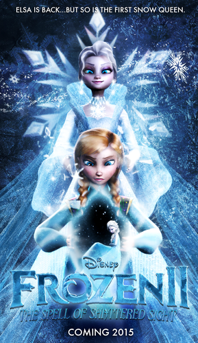 Frozen wallpaper titled FROZEN 2 POSTER