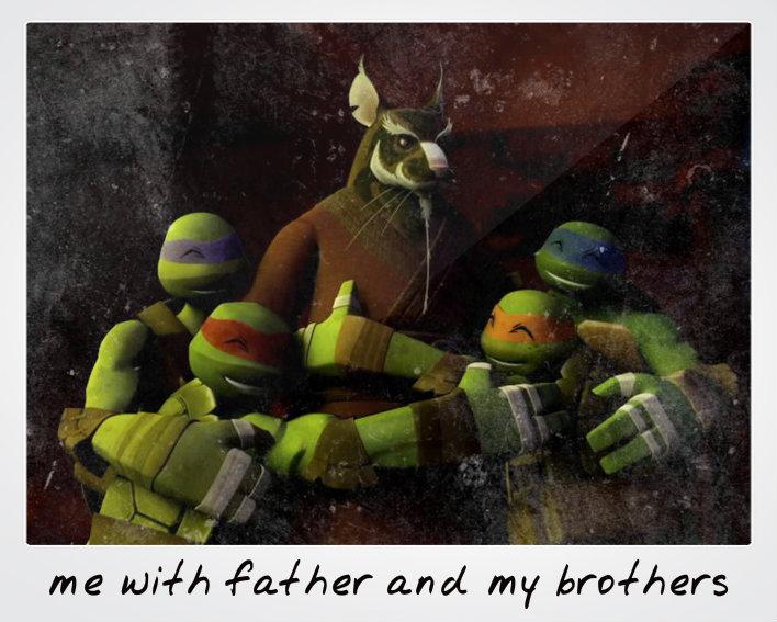 Family Tmnt Sensei Splinter Tmnt Fotografia 37803895 Fanpop