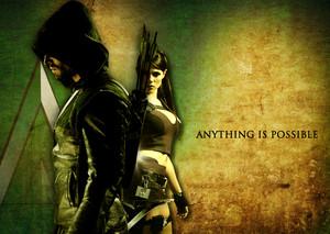 người hâm mộ Made Poster(Arrow Tomb Raider Crossover)