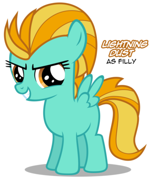 Filly Lightning Dust