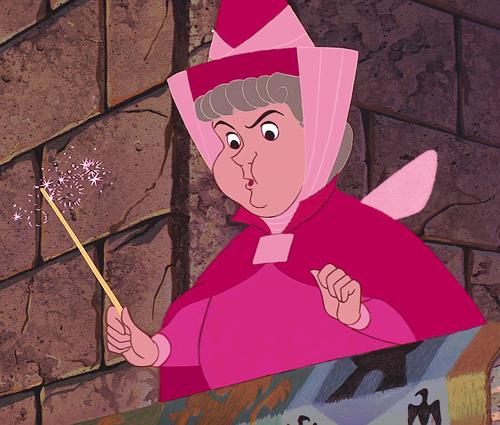 princesas de disney fondo de pantalla entitled Flora in rosado, rosa (Edit)
