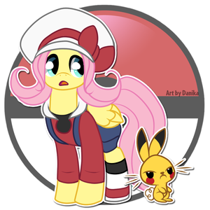 Fluttershy pokemon trainer