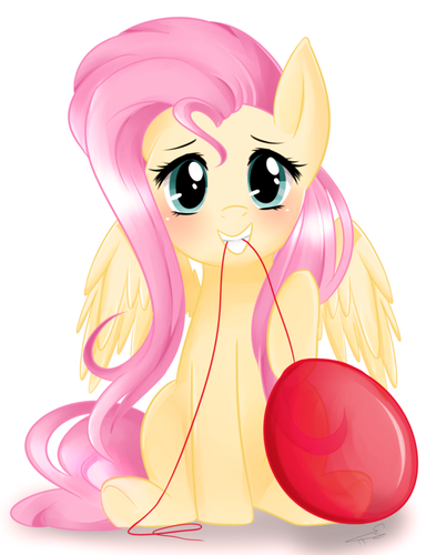 Fluttershy Hintergrund probably containing a bouquet called Fluttershy wants to party